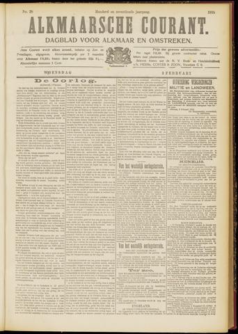 Alkmaarsche Courant 1915-02-03
