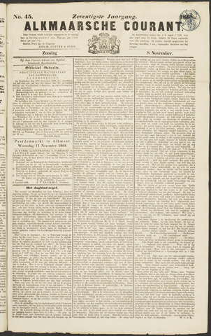 Alkmaarsche Courant 1868-11-08
