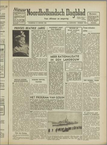 Nieuw Noordhollandsch Dagblad : voor Alkmaar en omgeving 1946-01-30