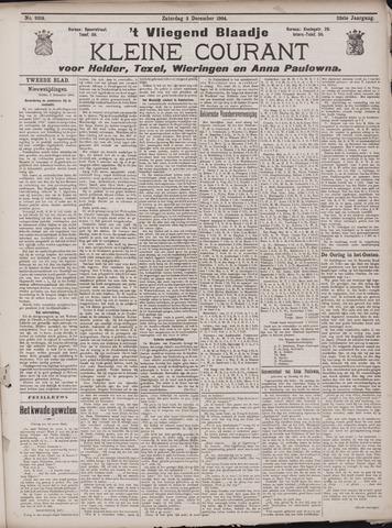 Vliegend blaadje : nieuws- en advertentiebode voor Den Helder 1904-12-03