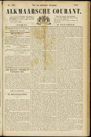 Alkmaarsche Courant 1882-11-19