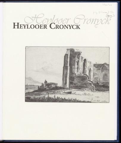 Heylooer Cronyck 2009-08-01