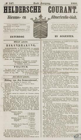 Heldersche Courant 1866-08-25