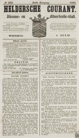 Heldersche Courant 1866-07-04
