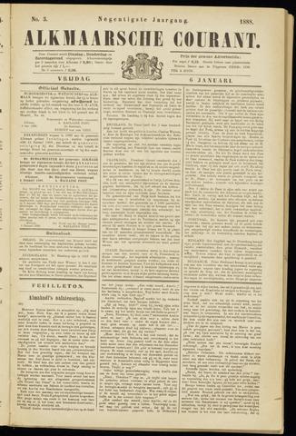 Alkmaarsche Courant 1888-01-06