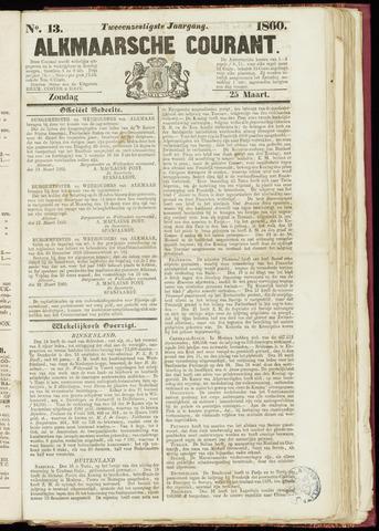 Alkmaarsche Courant 1860-03-25