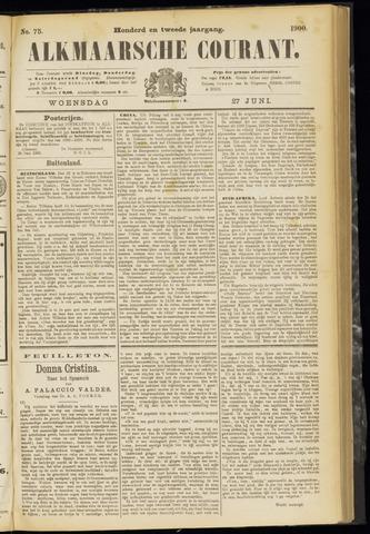 Alkmaarsche Courant 1900-06-27