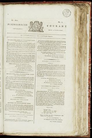 Alkmaarsche Courant 1820-01-10