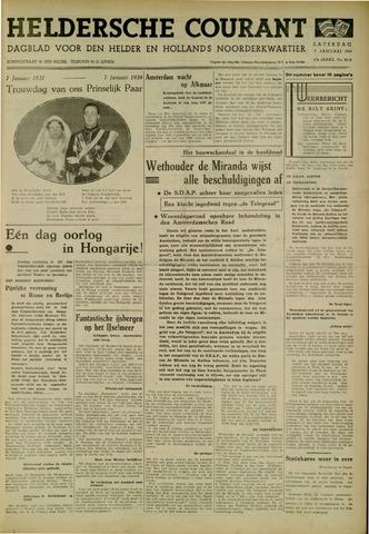 Heldersche Courant 1939-01-07