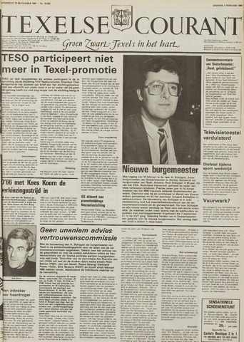 Texelsche Courant 1986-02-04