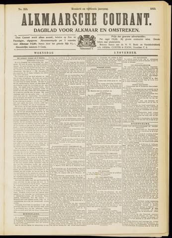 Alkmaarsche Courant 1913-11-05