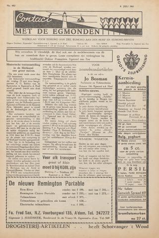 Contact met de Egmonden 1961-07-06