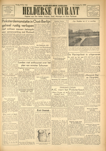 Heldersche Courant 1950-05-30