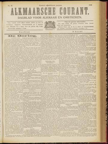 Alkmaarsche Courant 1916-03-13