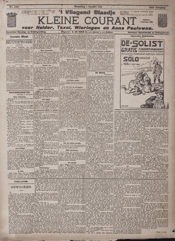 Vliegend blaadje : nieuws- en advertentiebode voor Den Helder 1913-01-01