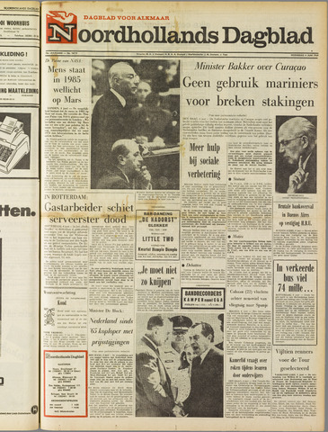 Noordhollands Dagblad : dagblad voor Alkmaar en omgeving 1969-06-04
