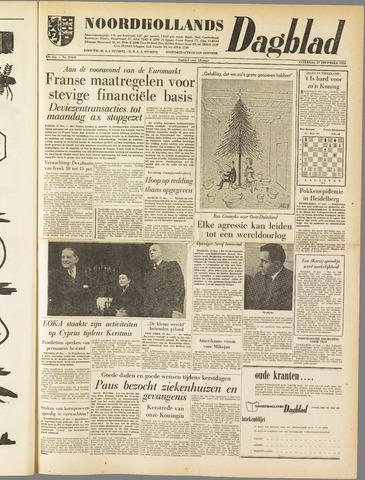 Noordhollands Dagblad : dagblad voor Alkmaar en omgeving 1958-12-27