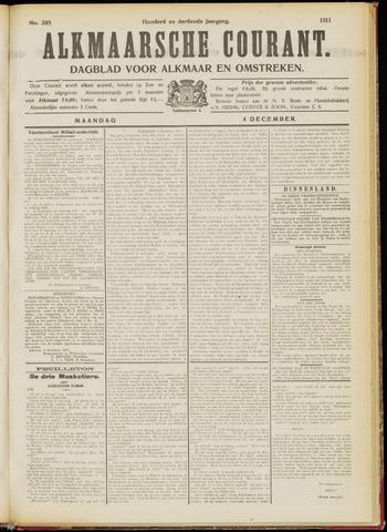 Alkmaarsche Courant 1911-12-04