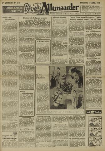 De Vrije Alkmaarder 1949-04-16