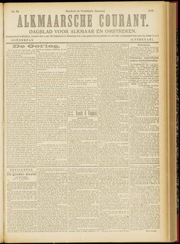 Alkmaarsche Courant 1918-02-14