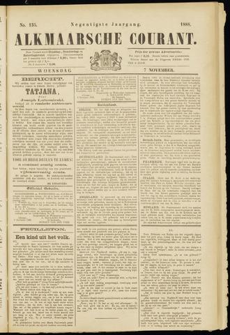Alkmaarsche Courant 1888-11-07