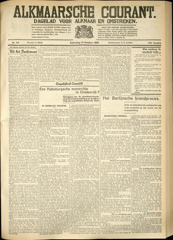 Alkmaarsche Courant 1933-10-14