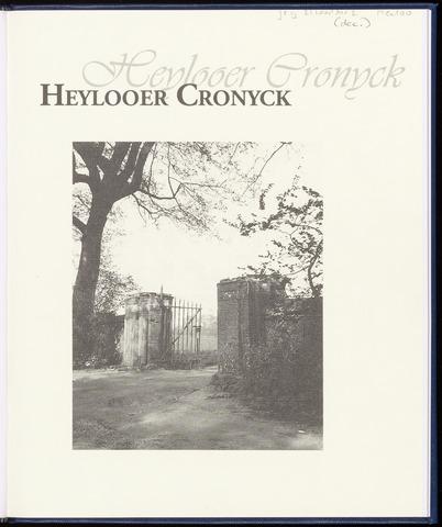 Heylooer Cronyck 2008-12-01
