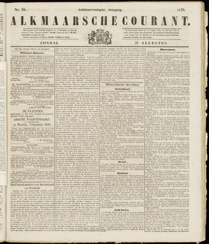 Alkmaarsche Courant 1876-08-27