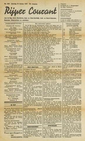 Rijper Courant 1945-10-20