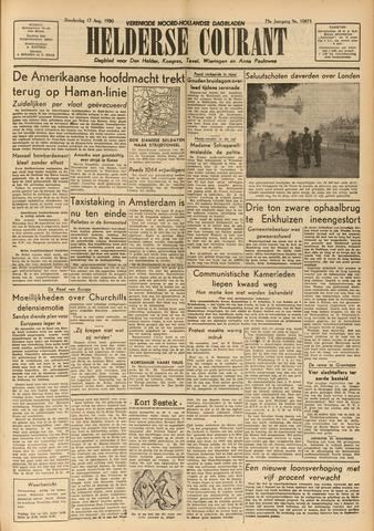 Heldersche Courant 1950-08-17