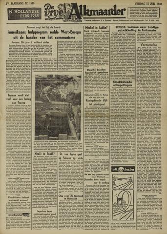 De Vrije Alkmaarder 1949-07-15