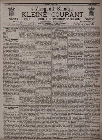 Vliegend blaadje : nieuws- en advertentiebode voor Den Helder 1895-05-04