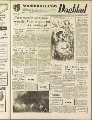 Noordhollands Dagblad : dagblad voor Alkmaar en omgeving 1959-06-20