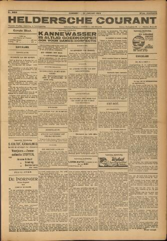 Heldersche Courant 1929-01-24
