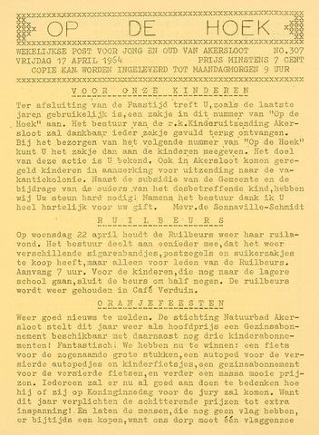Op De Hoek, weekblad voor Akersloot 1964-04-17