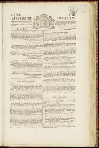Alkmaarsche Courant 1852-08-23