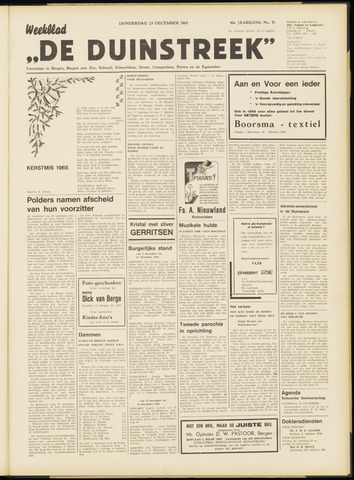 De Duinstreek 1965-12-23