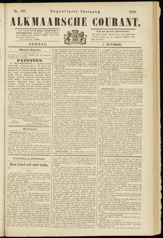 Alkmaarsche Courant 1888-10-05