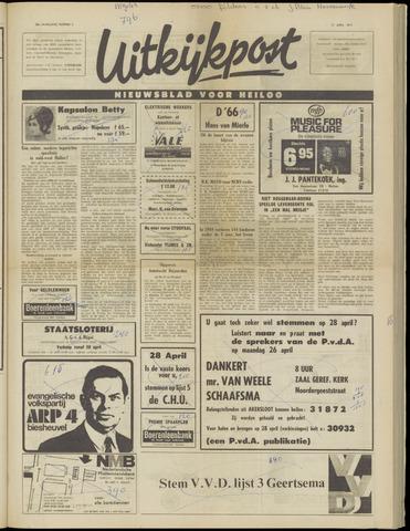 Uitkijkpost : nieuwsblad voor Heiloo e.o. 1971-04-21