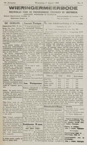 Wieringermeerbode 1945-01-17