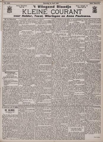 Vliegend blaadje : nieuws- en advertentiebode voor Den Helder 1906-04-21