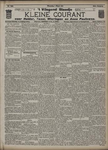 Vliegend blaadje : nieuws- en advertentiebode voor Den Helder 1910-03-09
