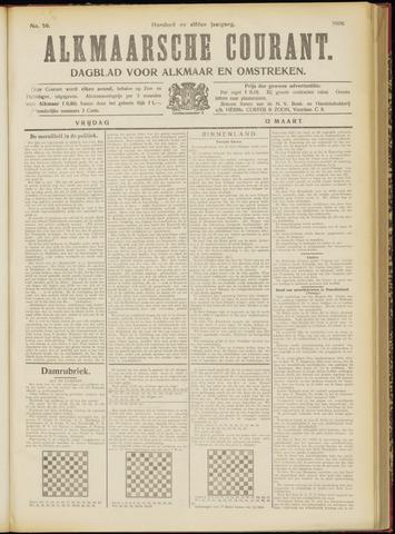 Alkmaarsche Courant 1909-03-12