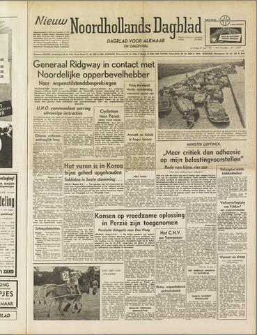 Nieuw Noordhollandsch Dagblad : voor Alkmaar en omgeving 1951-06-30