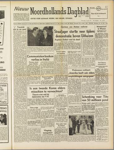 Nieuw Noordhollandsch Dagblad : voor Alkmaar en omgeving 1951-06-13