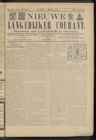 Nieuwe Langedijker Courant 1924-03-01