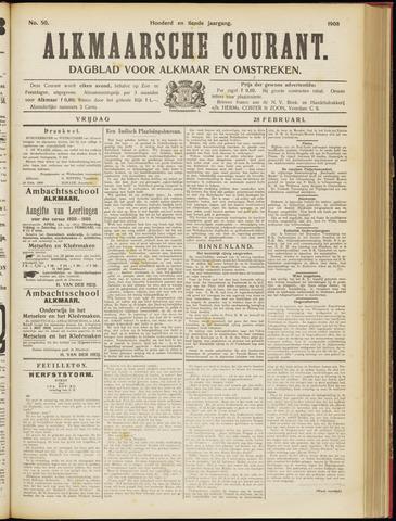 Alkmaarsche Courant 1908-02-28