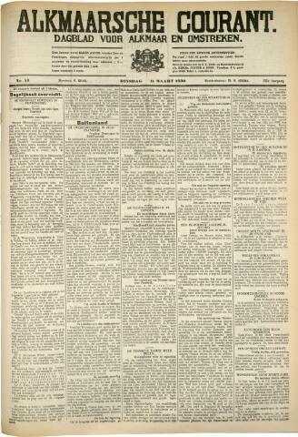 Alkmaarsche Courant 1930-03-11