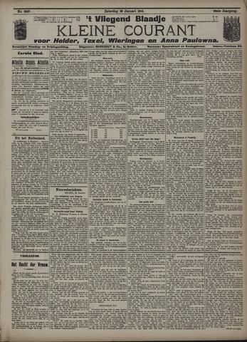 Vliegend blaadje : nieuws- en advertentiebode voor Den Helder 1910-01-29