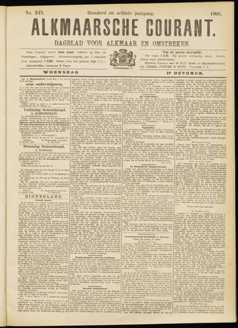 Alkmaarsche Courant 1906-10-17